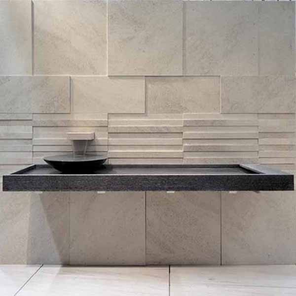 Natural Stone Bathroom – Materia Italian Details