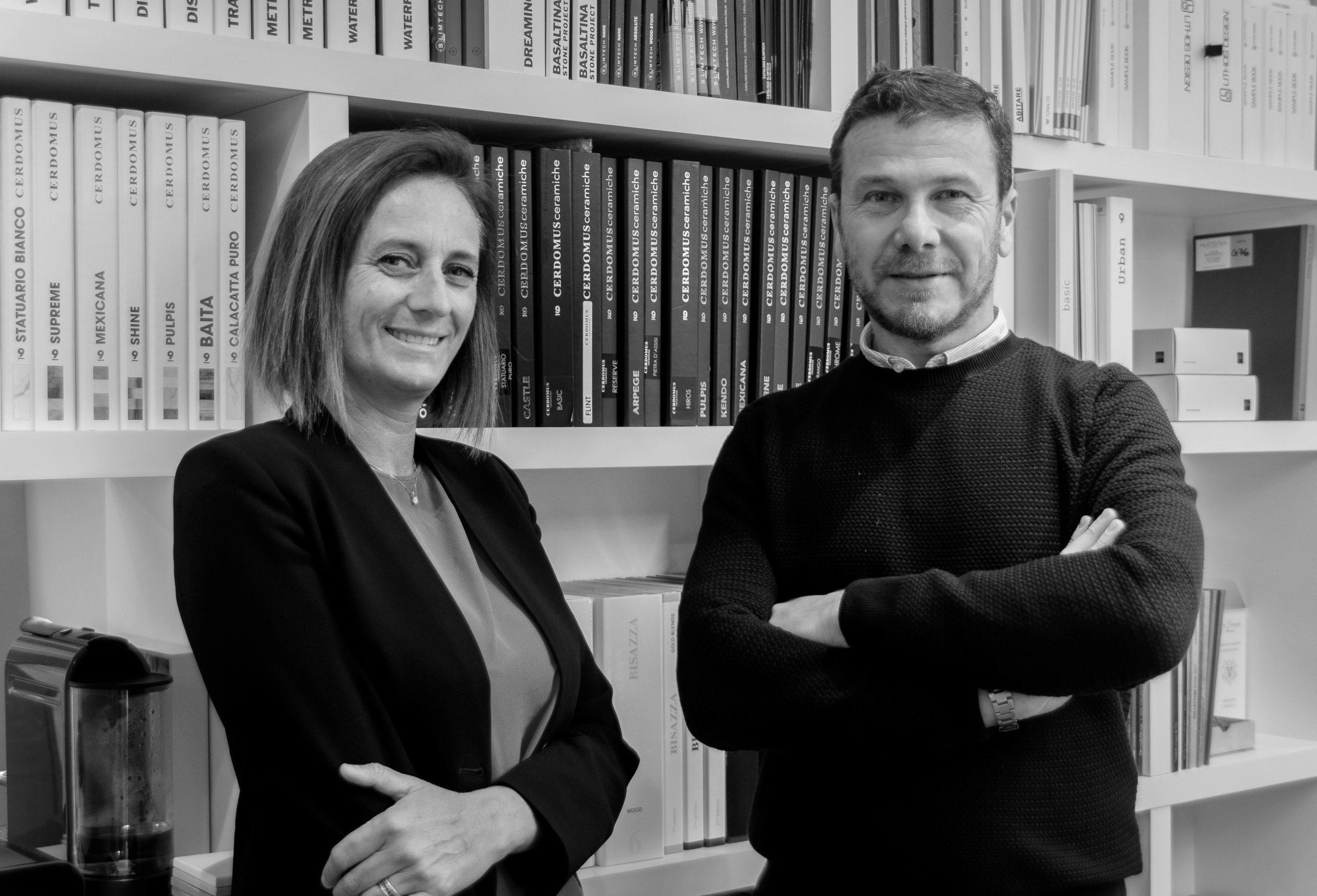 Lara Del Chiaro and Massimo Musso